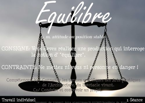 7 Equilibre