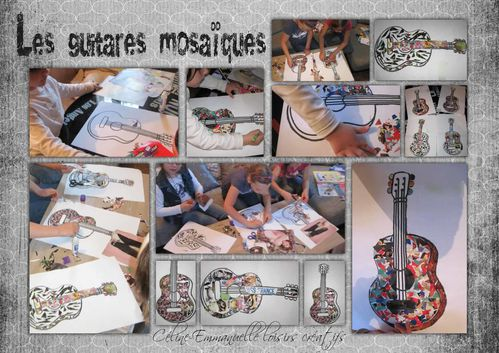 guitares mosaïques