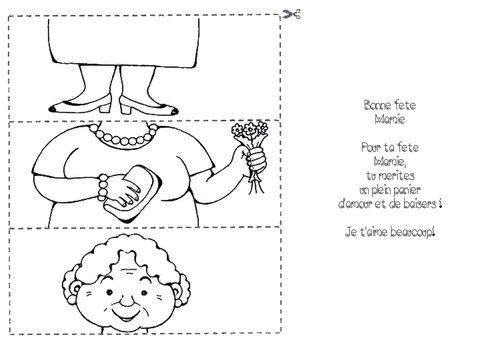 Fête Des Grand Mères Puzzle Poème Le Blog De