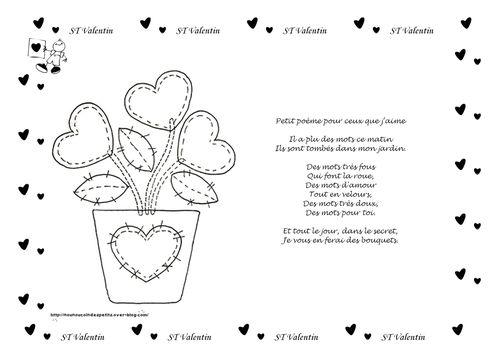 poème illustré petit poème pour ceux que j'aime valéri