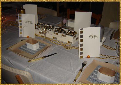 table en or et argent (page 1)