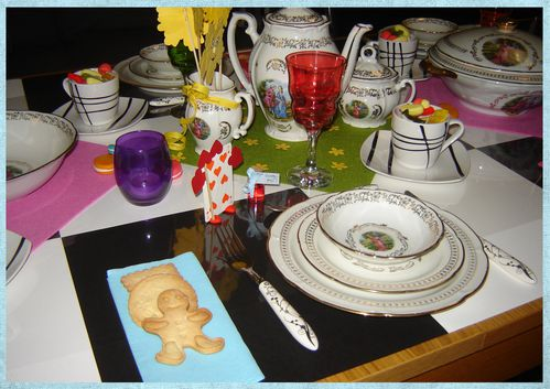 déco de table alice aux pays des merveilles (12)