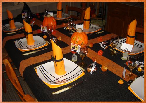 d co de table halloween 2010 quand mimi cr e le blog de mimi. Black Bedroom Furniture Sets. Home Design Ideas