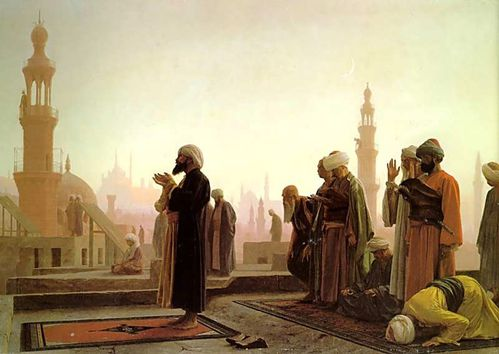 Prayer in Cairo 1865
