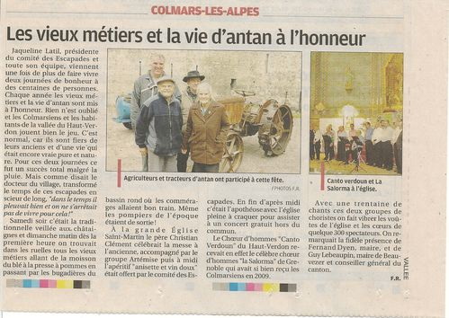 Article concert Solorma