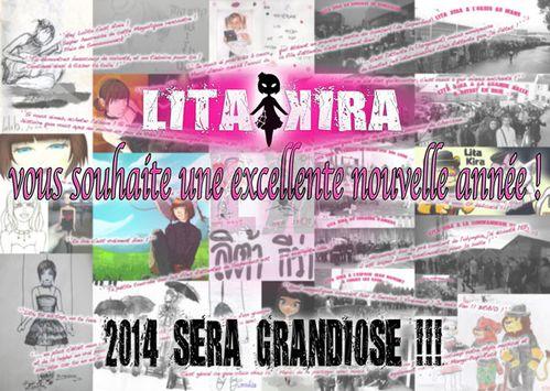 LitaKira vous souhaite 2014 low