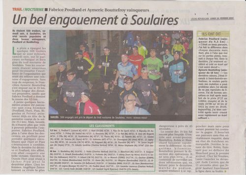 ARTICLE L'ECHO DU 10 FEVRIER 2014 001