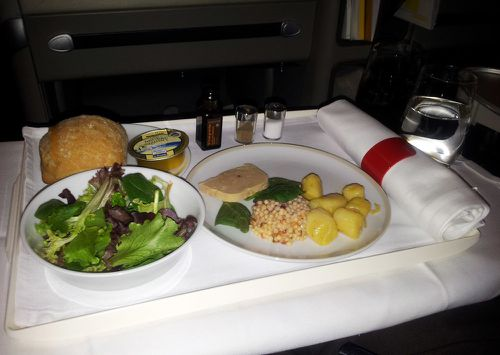 air france business paris NY entree
