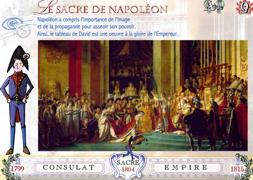Le sacre de Napoléon France tv