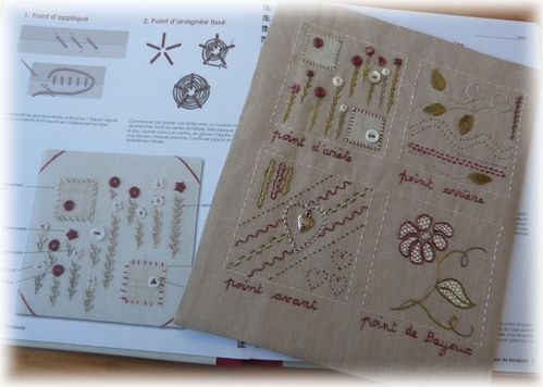 cahier broderie I b 1