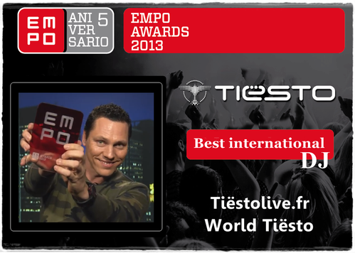 Tiësto EMPO 13 april 2013