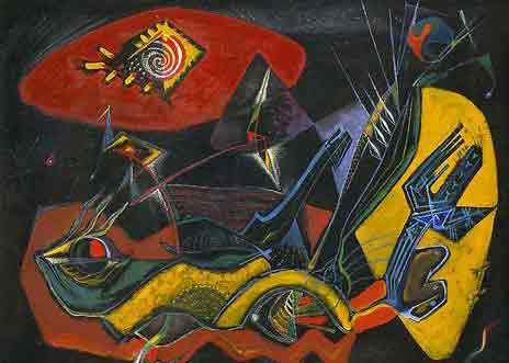 Andre Masson The see de dearth