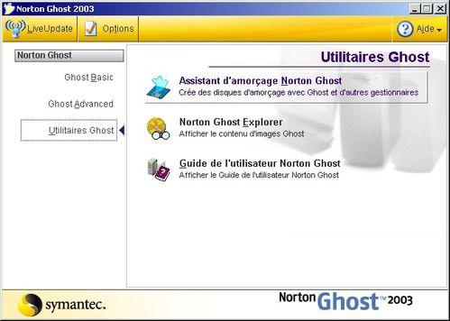 disquette de boot ghost