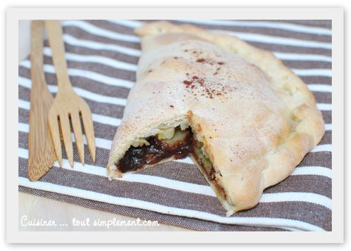 calzone nutella-bananes