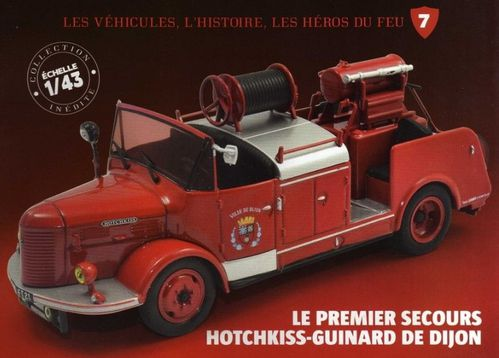 collection presse camions v hicules des sapeurs pompiers hachette collections. Black Bedroom Furniture Sets. Home Design Ideas