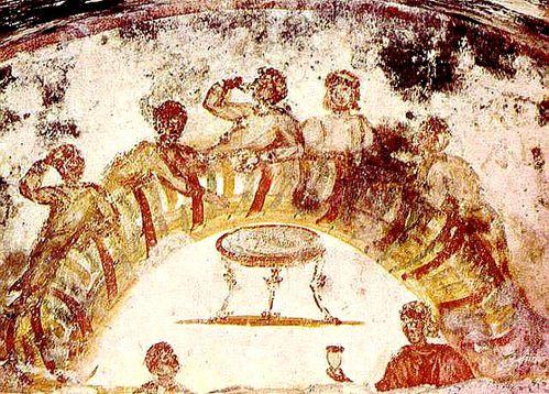 Cène Catacombes