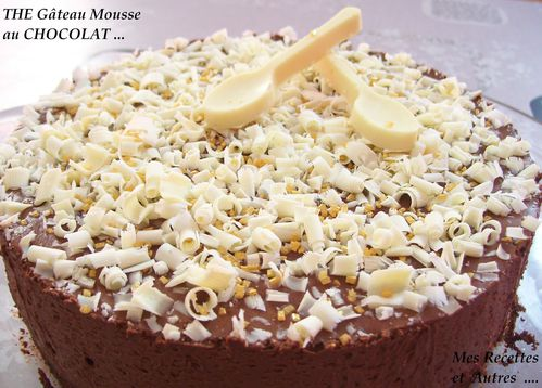 the gateau mousse 2