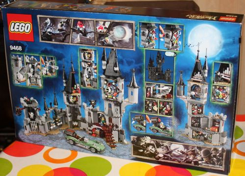 9468 le chateau du vampire vampyre castle i ma collection de lego. Black Bedroom Furniture Sets. Home Design Ideas