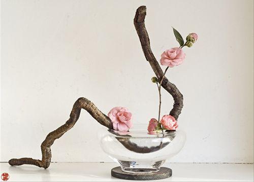 ikebana (art floral nippon)