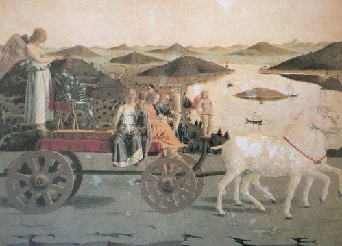 Piero della Francesca Triomphe de Frédéric II de Montefel