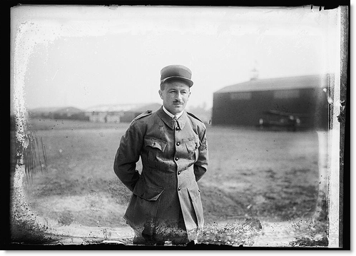 Captain Georges Thenault, French Aviation Service 04Oct1922