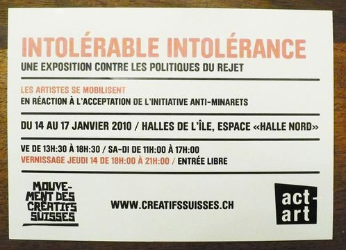 flyer expo intolerable