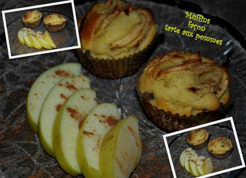 muffin pomme