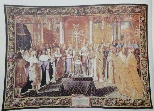 Charles Le Brun Histoire du roi le sacre de Louis XIV 1661