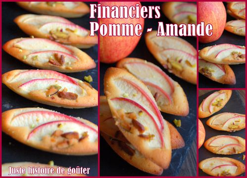 financiers pommeamande