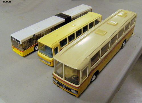 les bus mercedes