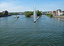 Wikipedia-Liège-Meuse et sa dérivation