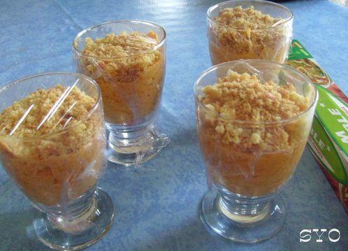 Mousse abricot en crumble-Mamigoz (8)