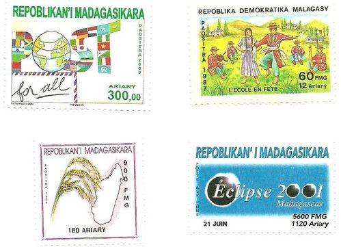 timbres art malgache5