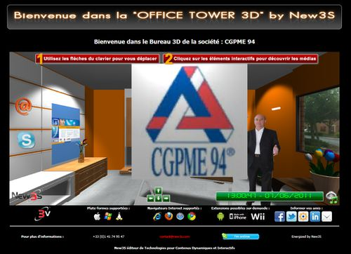tutorial office tower new3s bureau3d 1