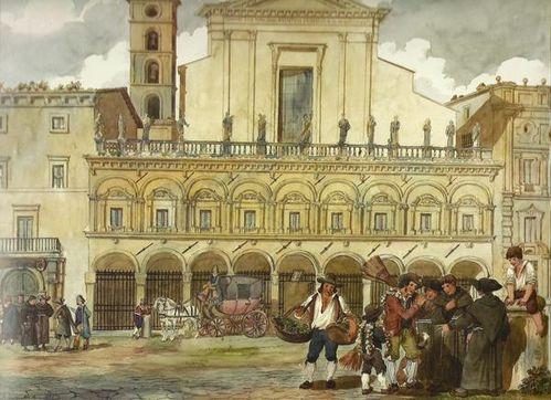 411a2 Rome, Pinelli, SS Dodici Apostoli