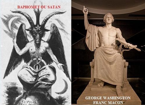 Baphomet George Washington Maçonn