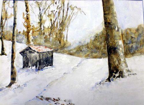 Jacqueline.Cabane en hiver