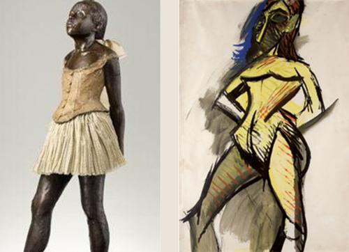 Picasso regarde Degas 4