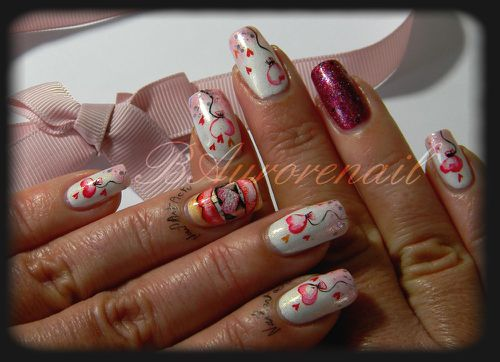 concours my valentine nails les ongles de bea. Black Bedroom Furniture Sets. Home Design Ideas