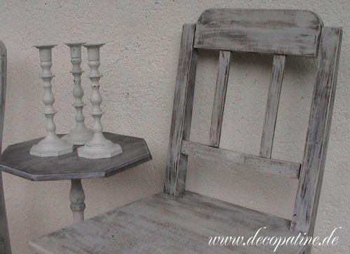 shabby chic stuhl vintage deco patine workshops zum relooking von m beln im shabby chic. Black Bedroom Furniture Sets. Home Design Ideas
