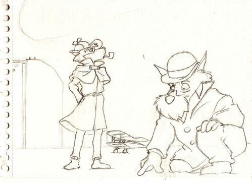 Sherlock Sketch 2