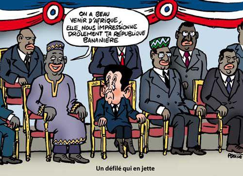 les chefs africains en république bananière