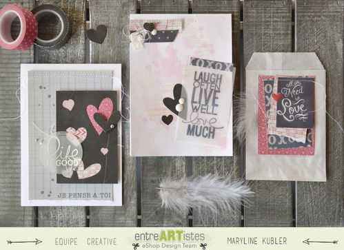 Mary pour EntreARTistes ensemble cartes St Valentin 1