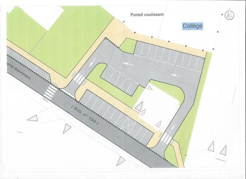 2014 07 31 AMENAGEMENT COLLEGE, PLAN