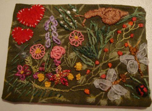 240 Parterre de fleurs ATC à 6 mains Josiane 3