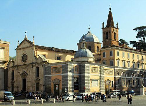 16 jan 2012 Chiesa Santa Maria del Popolo-1