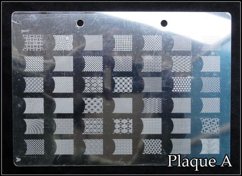Plaque XL Stamping A