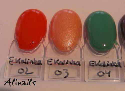 Essence KAlinka swatches