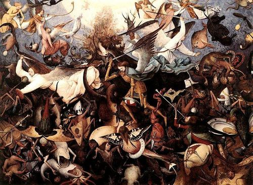 750px-Pieter Bruegel the Elder - The Fall of the Rebel Ange