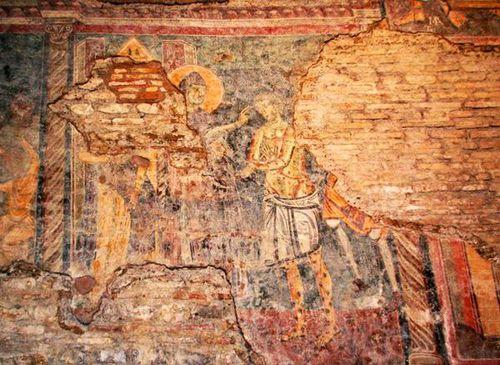 414d Rome, San Crisogono, église paléochrétienne